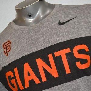 9506 Mens Nike Gym Shirt Baseball Dri-Fit Size XL